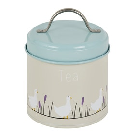 Lucy Goose Metal Tea Canister