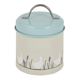 Lucy Goose Metal Coffee Canister