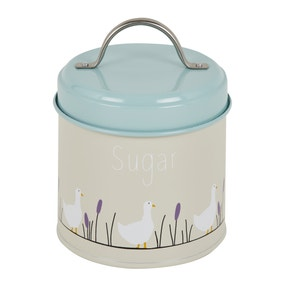 Lucy Goose Metal Sugar Canister