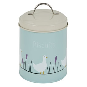 Lucy Goose Metal Biscuits Holder