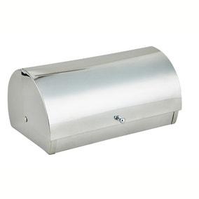 Stainless Silver Roll Bread Bin