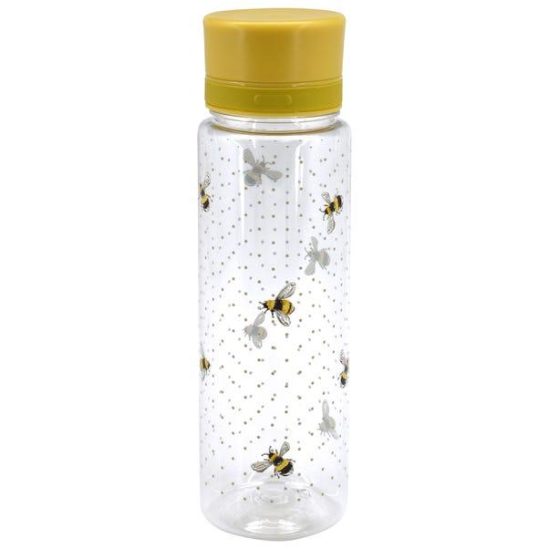 Bee 650ml Water Bottle Clear