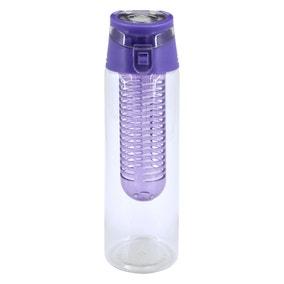 Purple 700ml Infuser Bottle