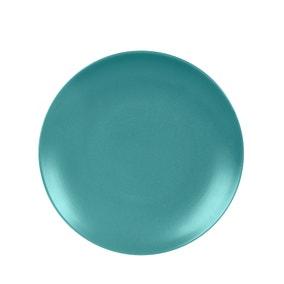 Stoneware Teal Dinner Plate