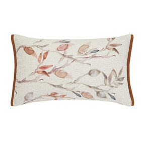 Autumn Leaves Natural Cushion