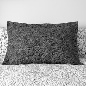 Dottie Black Oxford Pillowcase
