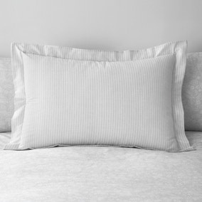 Phoebe Grey Oxford Pillowcase