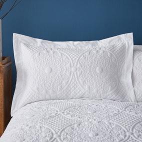 Mandalay White Oxford Pillowcase