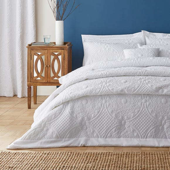 Mandalay White Bedspread  undefined