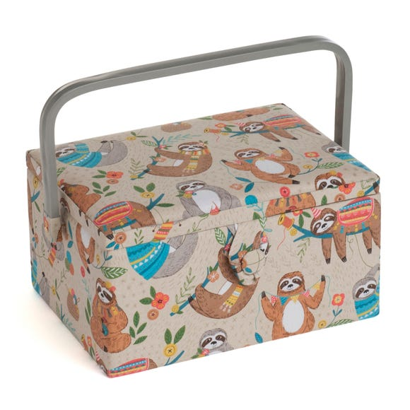 Sloth Large Sewing Box  undefined