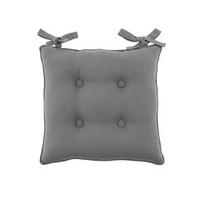 Isabelle Charcoal Seat Pad