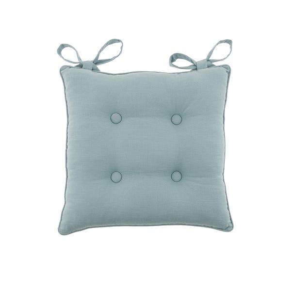 Isabelle Soft Blue Seat Pad Blue
