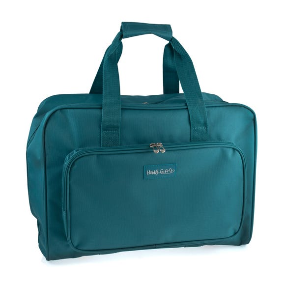 Teal Sewing Machine Bag