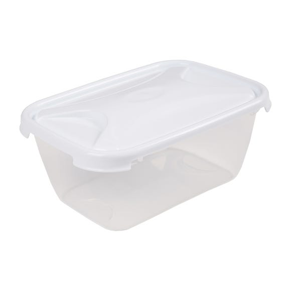 Rectangular 2L Container Clear