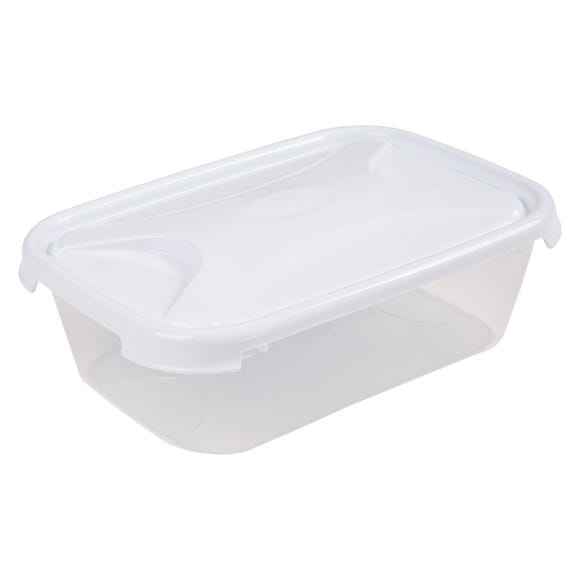 Rectangular 1.6L Container Clear