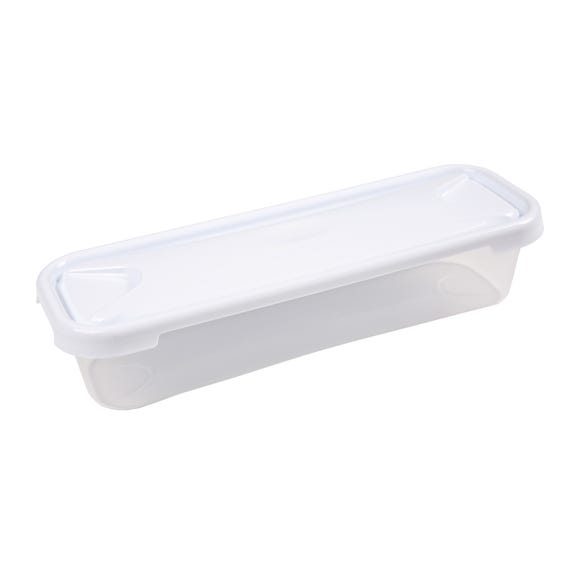 Long Rectangular 1.2L Container Clear
