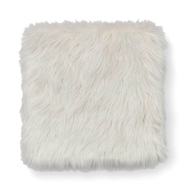Sherpa Seat Pad Square Seat Pad Ivory