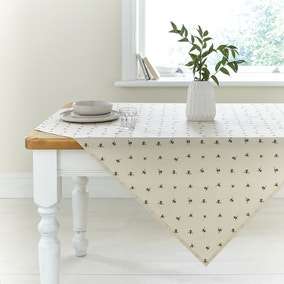 Bees Wipe Clean Tablecloth
