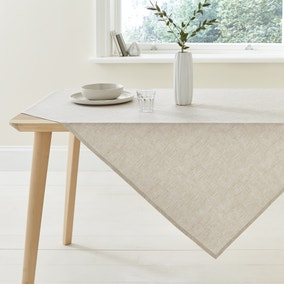Natural Wipe Clean Tablecloth