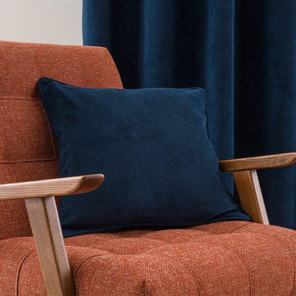 Margot Velvet-Look Midnight Blue Cushion Blue