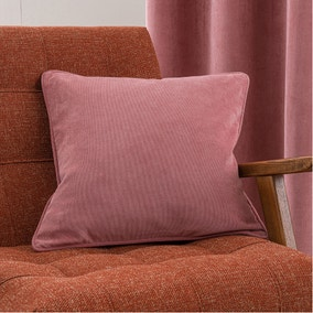Margot Velvet-Look Rose Cushion