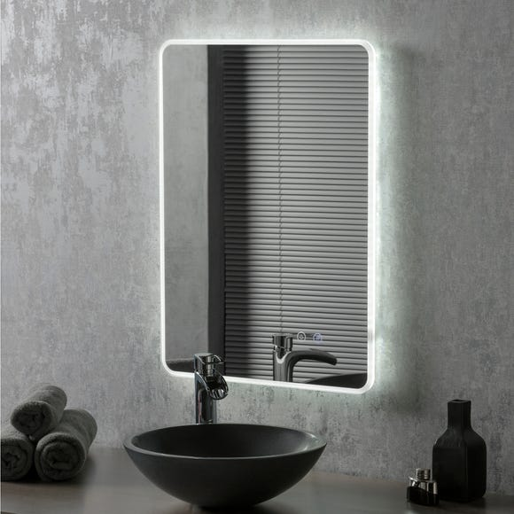 Moscow LED Portrait Mirror Clear
