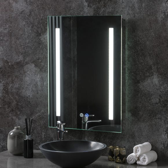 Stockholm LED Portrait Mirror Clear