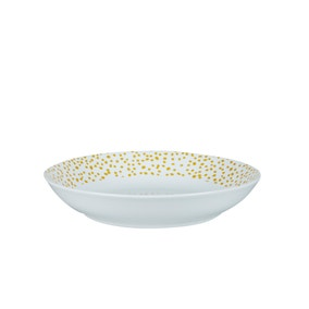 Dottie Ochre Pasta Bowl