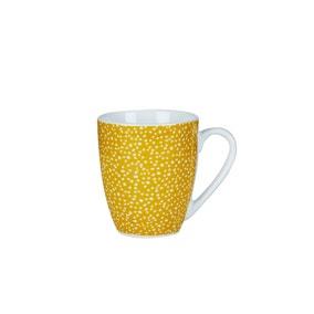 Dotty Ochre Mug