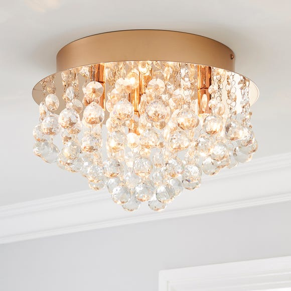 Torto Large Ceiling Fitting Rose Gold