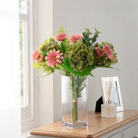 Florals Forever Chloe Hydrangea Luxury Bouquet Pink 63cm