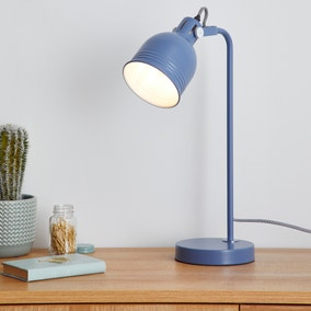 Isaac Blue Task Lamp