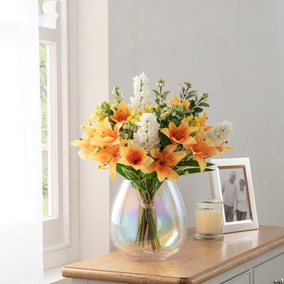 Florals Forever Jane Tiger Lily Luxury Bouquet Yellow 63cm