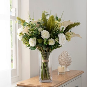 Florals Forever Charlotte Calla Lily Luxury Bouquet White 63cm