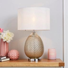 Kylee Mercury Glass Table Lamp
