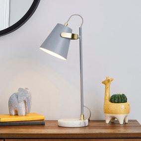Karter Marble Base Table Lamp