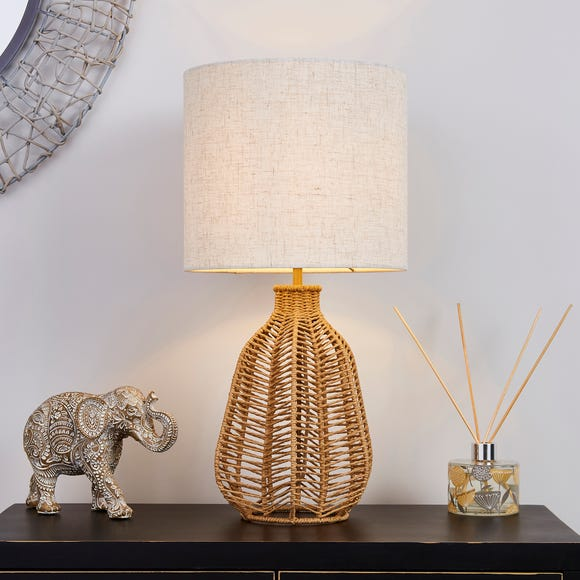 Kylo Woven String Table Lamp Beige