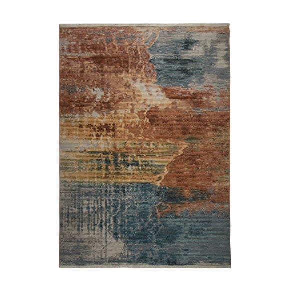 Kew Abstract Rug MultiColoured undefined