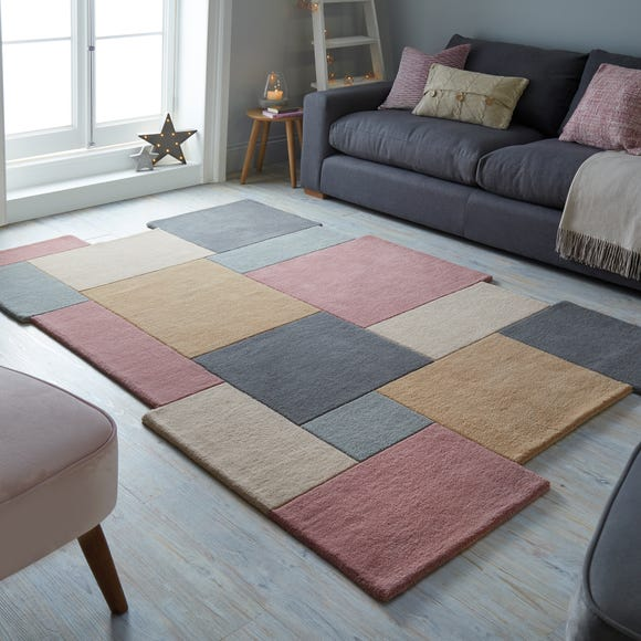 Collage Wool Rug  undefined