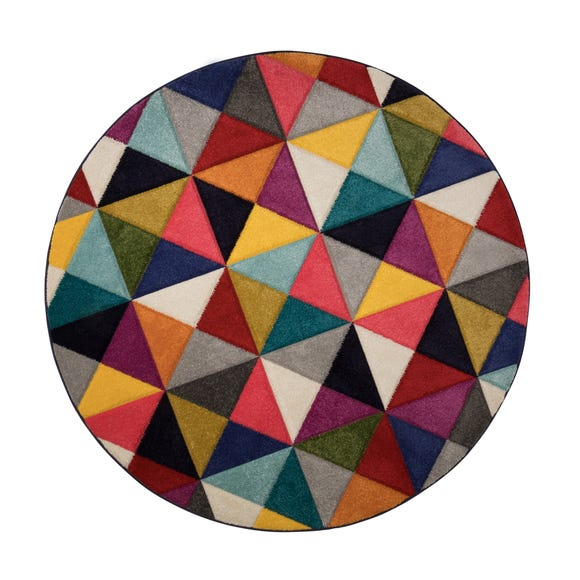 Samba Geometric Rug MultiColoured