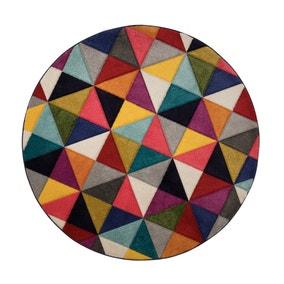 Samba Geometric Circle Rug
