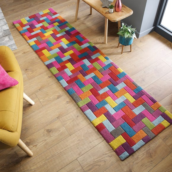Flynn Wool Runner MultiColoured