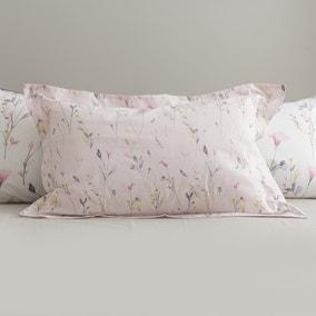 Fiori Pink Oxford Pillowcase