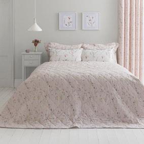 Fiori Pink Bedspread