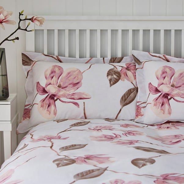 Lois Pink Oxford Pillowcase Pink