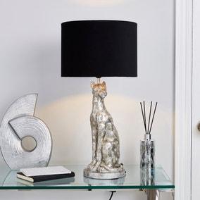 Leon Leopard Table Lamp