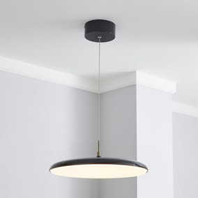 Faas LED Grey Ceiling Fitting