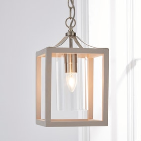 Tove Wooden 1 Light Pendant Ceiling Fitting