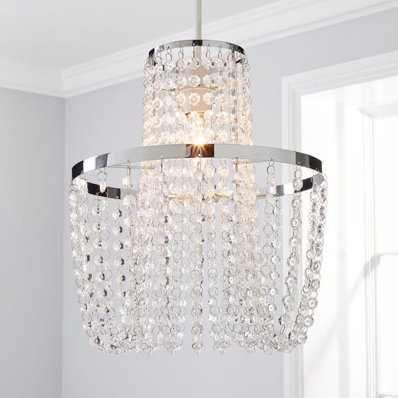 Tina Easy Fit Pendant Clear