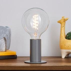 Eban Grey Table Lamp